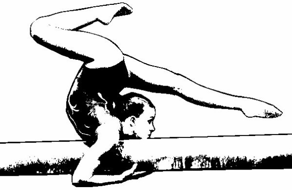 Dessin - Dessin gymnaste ...